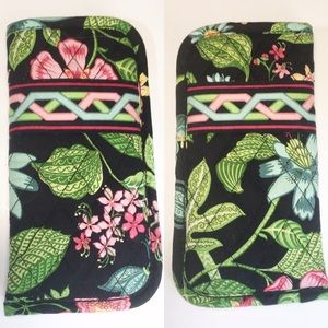 Vera Bradley Quilted Tropical Flower Glasses Case